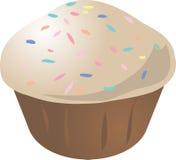 Mollete del cupcake Fotos de archivo libres de regalías