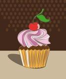 Mollete delicioso del chocolate ilustración del vector