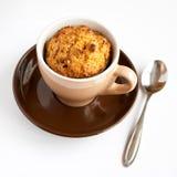 Mollete libre del gluten en taza Imagen de archivo libre de regalías