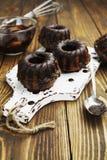 Molletes con el chocolate Foto de archivo