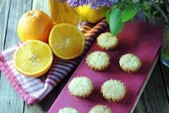 Molletes con la fruta Imagen de archivo