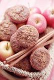 Molletes con la manzana Foto de archivo