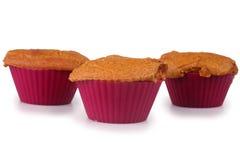 Molletes de la torta de zanahoria Imagen de archivo