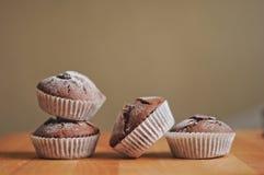 Molletes del chocolate Imágenes de archivo libres de regalías