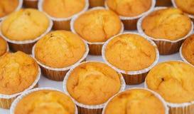 Molletes deliciosos de la vainilla Abastecimiento de la comida Imagen de archivo libre de regalías