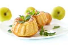 Molletes dulces de la manzana Fotografía de archivo libre de regalías