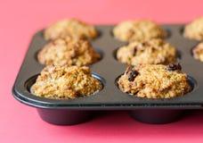 Molletes libres del gluten en la cacerola de la asación Imagen de archivo libre de regalías