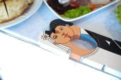 Molletta da bucato di nozze Immagini Stock Libere da Diritti