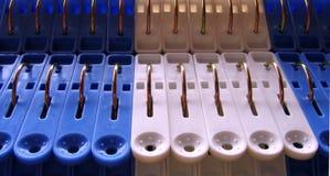 Mollette per il bucato -- Dettagli Fotografia Stock Libera da Diritti