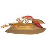 Mollusca stock illustrationer