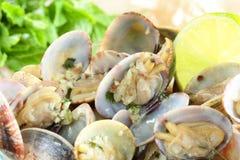 Molluschi cucinati fotografie stock