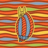 mollusco illustrazione vettoriale