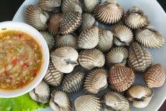Mollusques et crustacés de fruits de mer Photo stock