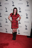 Molly Burnett arrives at the ATAS Daytime Emmy Awards Nominees Reception Royalty Free Stock Photos