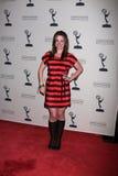 Molly Burnett arrives at the ATAS Daytime Emmy Awards Nominees Reception Stock Photos