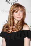 Molly C. Quinn arrives at the  Royalty Free Stock Photo