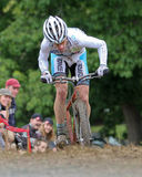 Molly Cameron competes at Cycloross Race Stock Photos