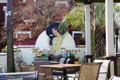 Molly Darcys Restaurant in Charleston SC Stock Image