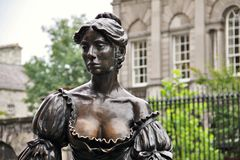 Molly Malone`s statue, Dublin Royalty Free Stock Image