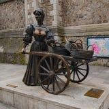 Molly Malone Statue Dublin photographie stock libre de droits