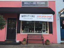 Molly & Me Pecans store Royalty Free Stock Image