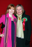 Molly Quinn,Susan Sullivan Stock Photo
