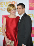 Molly Ringwald & Panio Gianopoulos Royalty Free Stock Photo