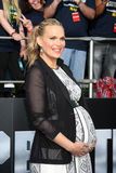 Molly Sims arrives at the  Royalty Free Stock Photography