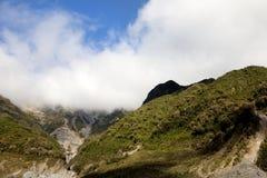 Moln över dalen Arkivbilder