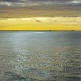 Moln över det baltiska havet Royaltyfria Foton