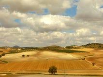 Moln av Andalusia 2 arkivbild