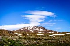 Moln av vulkan Royaltyfria Foton