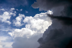 Moln efter en storm Royaltyfri Fotografi