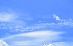 Moln för härlig sikt av himmel Royaltyfri Foto