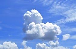 Moln för härlig sikt av himmel Arkivfoto