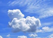 Moln för härlig sikt av himmel Royaltyfri Fotografi