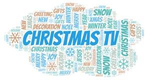 Moln för jultvord stock illustrationer