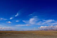 Moln för Kina Tibet snöstorm Fotografering för Bildbyråer