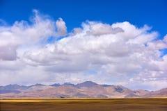 Moln för Kina Tibet snöstorm Royaltyfria Bilder