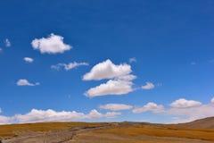 Moln för Kina Tibet snöstorm Royaltyfri Bild