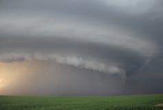 Moln för storm för moderskepp Arkivbild