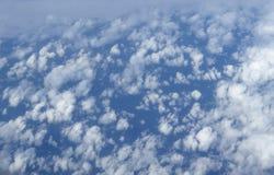 Moln från himmel Arkivbilder
