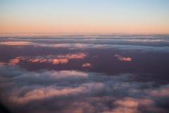 Moln från nivån på solnedgång 1 Royaltyfria Foton