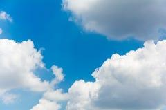 Moln himmel Arkivbild