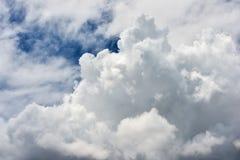 Moln i himlen för stormen Royaltyfri Fotografi