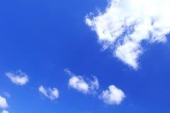 Moln i himmel Royaltyfria Bilder