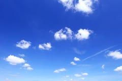 Moln i himmel Arkivbilder