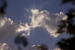 Moln i Sky Arkivbilder