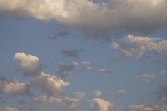 Moln i Sky Fotografering för Bildbyråer
