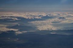 Moln i skyen Royaltyfri Bild